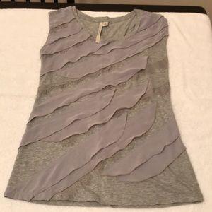 Grey LC Lauren Conrad Top